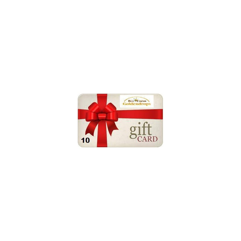 Gift card 10 pounds