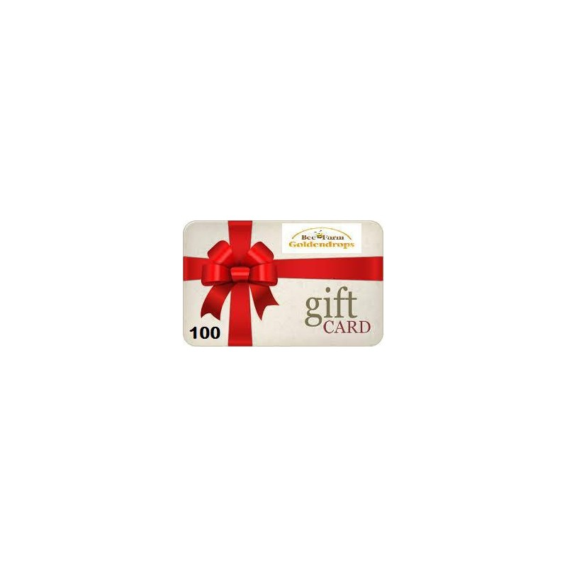 Gift card 100 pounds