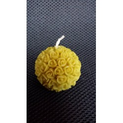 Sphere with roses silicone mould